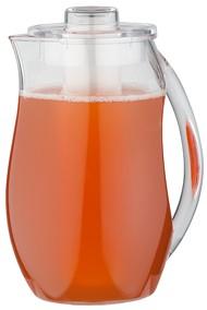 קנקן מיץ אקרילי עם מקום לקרח