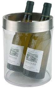 מצנן יין דפנות כפולות