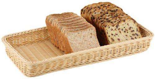 סלסלת לחם מלבנית לבופה