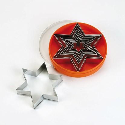 סט מקדים בצורת כוכב