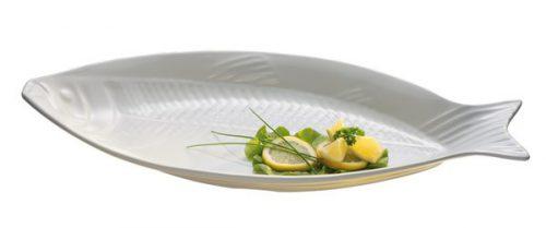 פלטת דג ממלמין