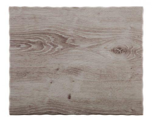 מגש מלמין דמויי עץ