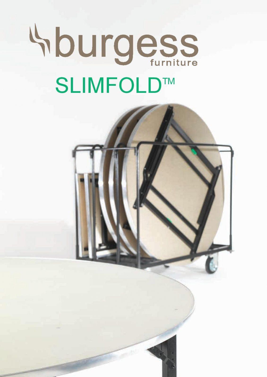 שולחנות לארועים דגם SLIMFOLD