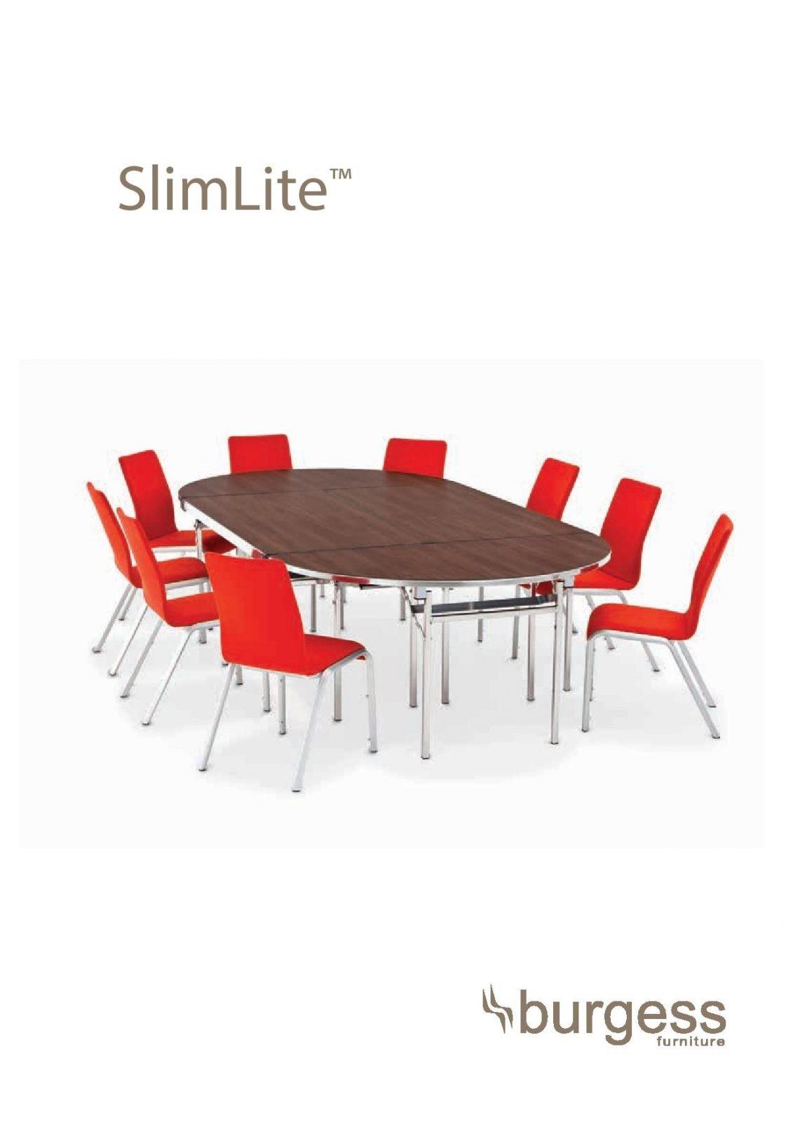שולחנות לארועים דגם SLIMELITE